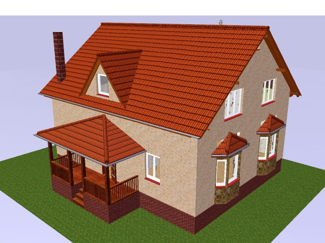 Проекты домов из бруса: цены, описание проектов